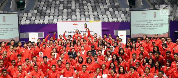 Tiga Atlet Muda Indonesia di Gelaran Asian Games 2018