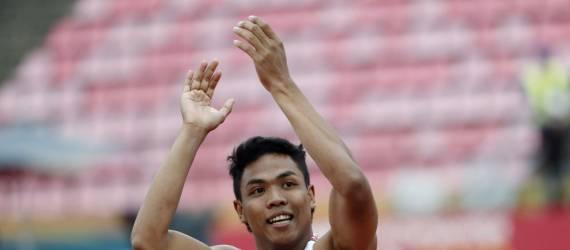 Pecahkan Rekor Nasional, Zohri juga Raih Perak di Kejuaraan Asia
