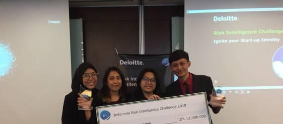 Tim Asal ITB Ini Wakili Indonesia dalam Ajang Risk Intelligence Challenge Tingkat ASEAN 2018