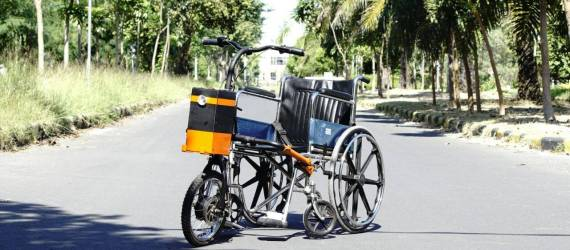 Trike, Sepeda Listrik untuk Penyandang Cacat Fisik