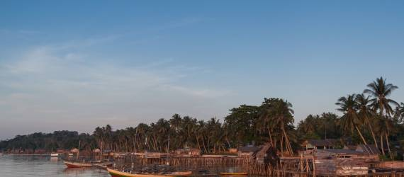 Rumah Panggung Kayu Melayu Khas Pulau Bangka Belitung Dipamerkan di UI