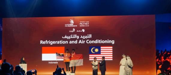 Delegasi Indonesia Bawa Pulang Jumlah Medali Terbanyak di World Skills Asia 2018