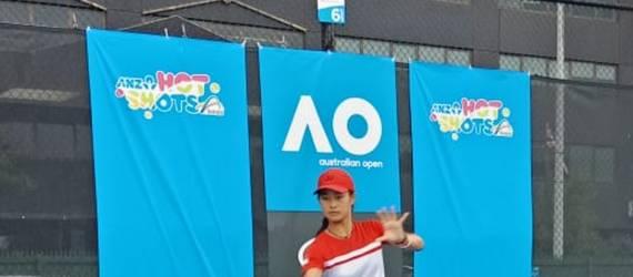 Debut di Grand Slam Australia Open, Priska Menangi Permainan Pertamanya