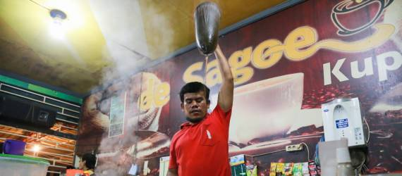 Yang Enak dari Aceh. Kopi Sanger!