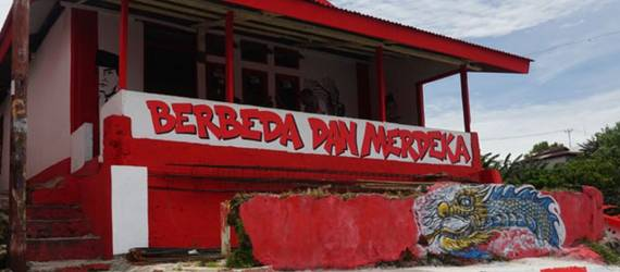 Melihat Kampung Merah Putih di Sudut Negeri