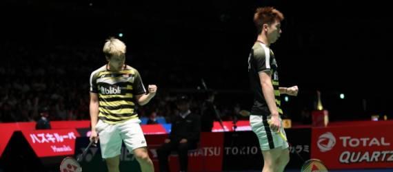 Marcus/Kevin Juara Juarai Japan Open 2018
