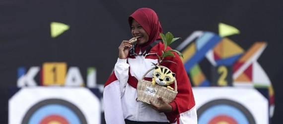 SEA Games 2017: Tim Panahan Kembali Sumbang Emas untuk Indonesia