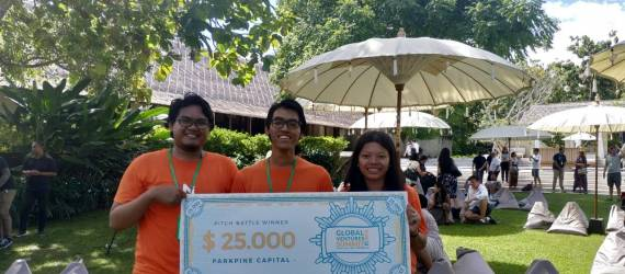 Ngeles.in, Start Up Asal Semarang Juara Global Venture Summit 2019