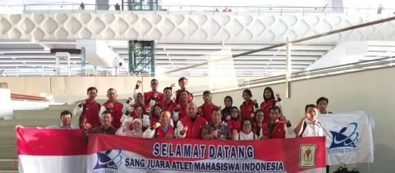 Indonesia Bawa Pulang 44 Emas dan Ranking 2 di ASEAN University Games 2018