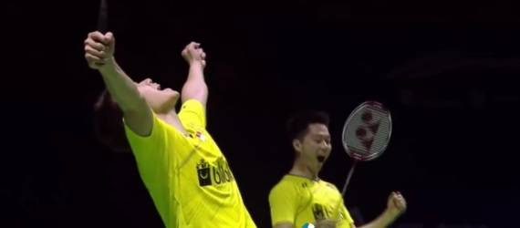 Hebat! Pasangan Ganda Putra Indonesia Raih Juara di China Open Super Series 2017