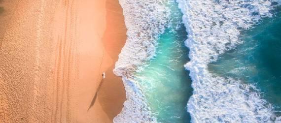 Foto-foto Pantai Sudut Pandang Drone Terbaik Asia Tenggara