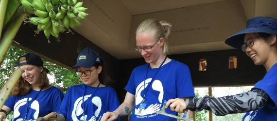 COP UK Petra Ajak Pemuda 7 Negara Kembangkan Desa di Mojokerto