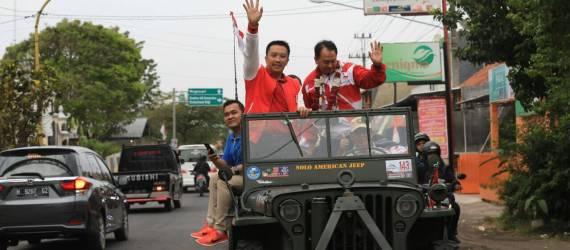 Juara Umum ASEAN Para Games 2017, Atlet Indonesia Diarak Menggunakan Jip dan Bus