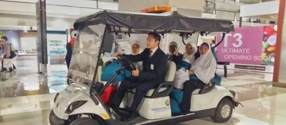 Layanan Golf Car Assistance Berbasis IoT Kini Hadir di Bandara Soetta!