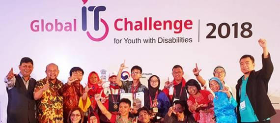 Para Disabilitas Ini Harumkan Indonesia di Ajang IT Internasional