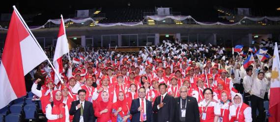 Indonesia Raih Juara 2 di ASEAN Skill Competition 2018