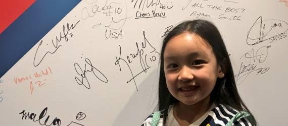 Malea Emma, Penyanyi Cilik Keturunan Indonesia dan Pertemuannya dengan Penyanyi Internasional!
