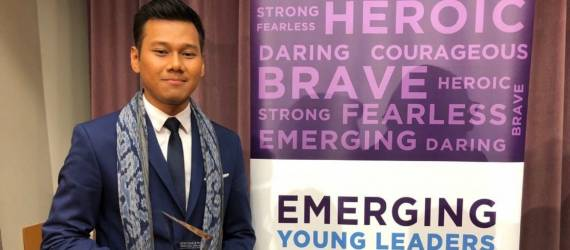 Pemuda Indonesia Raih Penghargaan Emerging Young Leaders 2018