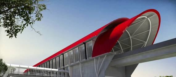 Dengan Kandungan Lokal 95%, LRT Palembang Membuktikan Engineering Indonesia