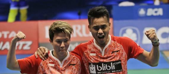 Selamat! 2 Pasangan Pebulutangkis asal Indonesia ini mendapat Peringkat 1 Juara Dunia