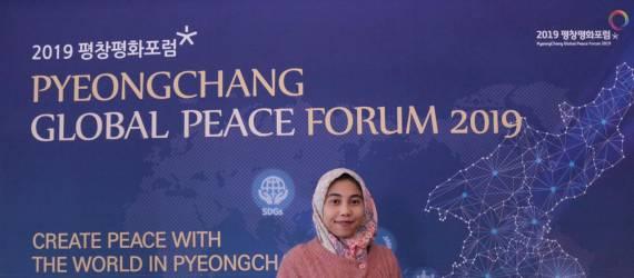 Gadis Gresik Berbicara tentang Peace Security di Korea Selatan