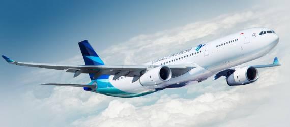 Kado Diskon 70% di HUT Garuda Indonesia ke-70