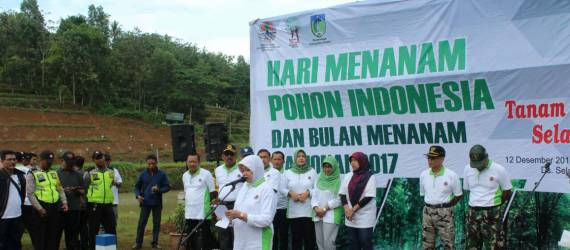 Kesadaran Penghijauan Lewat Hari Menanam Pohon Indonesia
