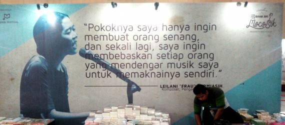 Buku yang Sunyi & Musik yang Bunyi di MocoSik Festival