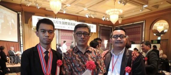 Seni yang Membawanya ke Jepang dan Raih Emas Di Festival Seni Internasional