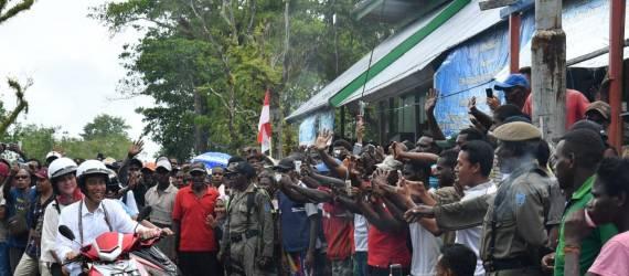 Dulu Terlupakan, Kini Tanah Papua Jadi Anak Emas Jokowi