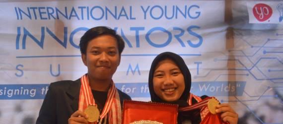 Dengan Inovasinya, Dua Anak Bangsa Ini Diganjar Medali di Ajang Inovator Muda Internasional