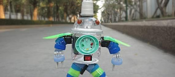 Robot Dari Sampah?