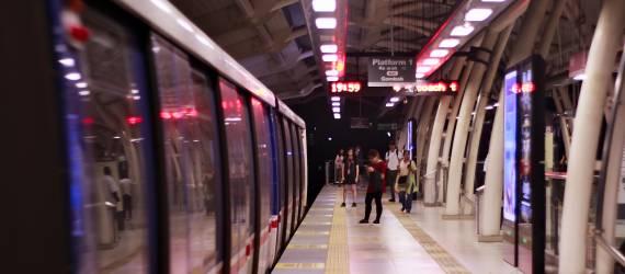 Begini Wujud Interior Stasiun MRT Senayan!