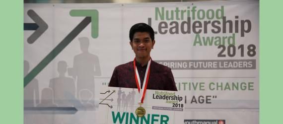Mahasiswa IPB Menangi Nutrifood Leadership Award