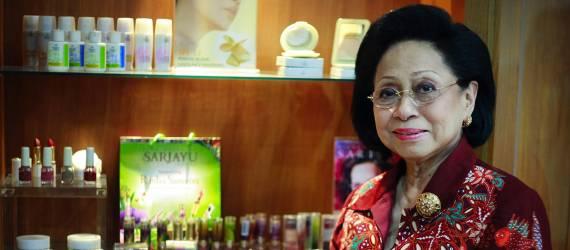 Martha Tilaar, Sariayu, dan Semangat untuk Terus Maju