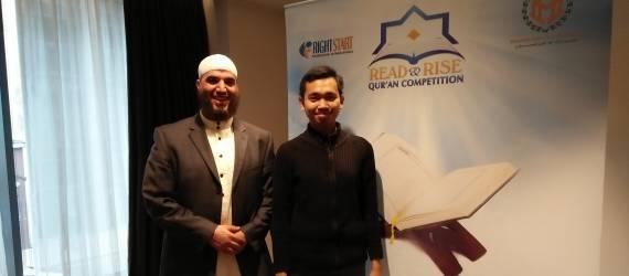 Pemuda Asal Payakumbuh Jadi Juara Tahfidz Internasional di Inggris