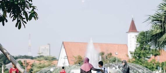 """Menteri Pembangunan Nasional dan SDM Singapura: """"Taman Kota Anda Lebih Hijau"""""""