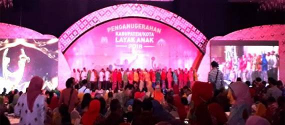 Surabaya Kembali Memenangkan Kota Layak Anak 2018