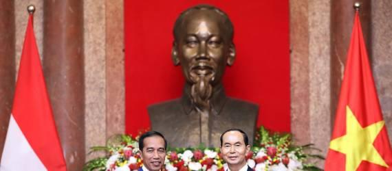 RI-Vietnam Teken MoU Perdagangan dan Pemberantasan Penangkapan Ikan Ilegal