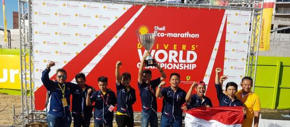 ITS Juarai Shell-Eco Marathon World Driving Championships 2018