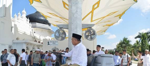 Ada yang Canggih di Masjid Raya Baiturrahman Banda Aceh