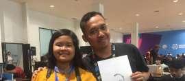Si Pelukis Cepat di Asian Para Games 2018 itu bernama Temanku Lima Benua