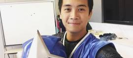 Pria Indonesia Kembali Menjadi Ranger Biru dalam Power Rangers