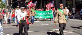 Bendera Indonesia Berkibar di New York Muslim Day Parade 2016