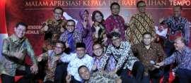 10 Kepala Daerah Teladan 2017 Pilihan Tempo