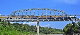 Progo River Bridge, 1 Of Only 2 Of Its Kind In The World