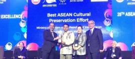 Garuda Indonesia & Saung Mang Udjo Menangkan ASEANTA Award 2016