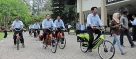 Sepeda Listrik Asli Indonesia Karya UNS