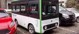 Prototipe Angkot Listrik dari Bandung