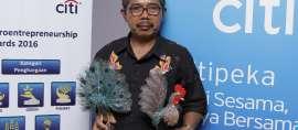 Wirausahawan Mikro Terbaik Dapat Penghargaan